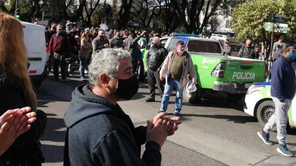 Protesta policial bonaerense 20200907