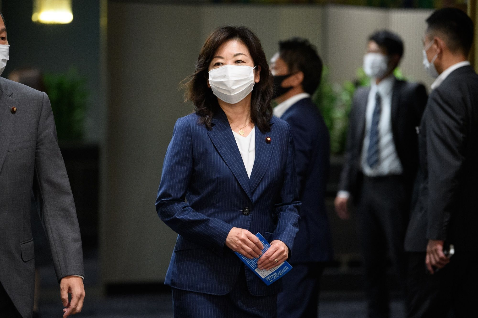 Japan's Ruling Party Starts Leader's Race