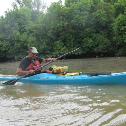 La técnica para mejorar la palada navegando en kayak.