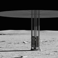 """El programa se llamará """"Fission Surface  Power"""" (""""Energía de Superficie de Fisión"""")  y su objetivo es poder desarrollar un sistema de potencia de fisión de 10 kilovatios en la Luna."""