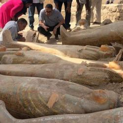 Es probable que los ataúdes hayan estado sellados desde que fueron enterrados.
