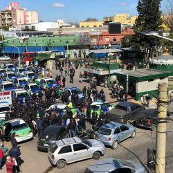 La protesta no tiene un rostro visible.  | Foto:Cedoc.
