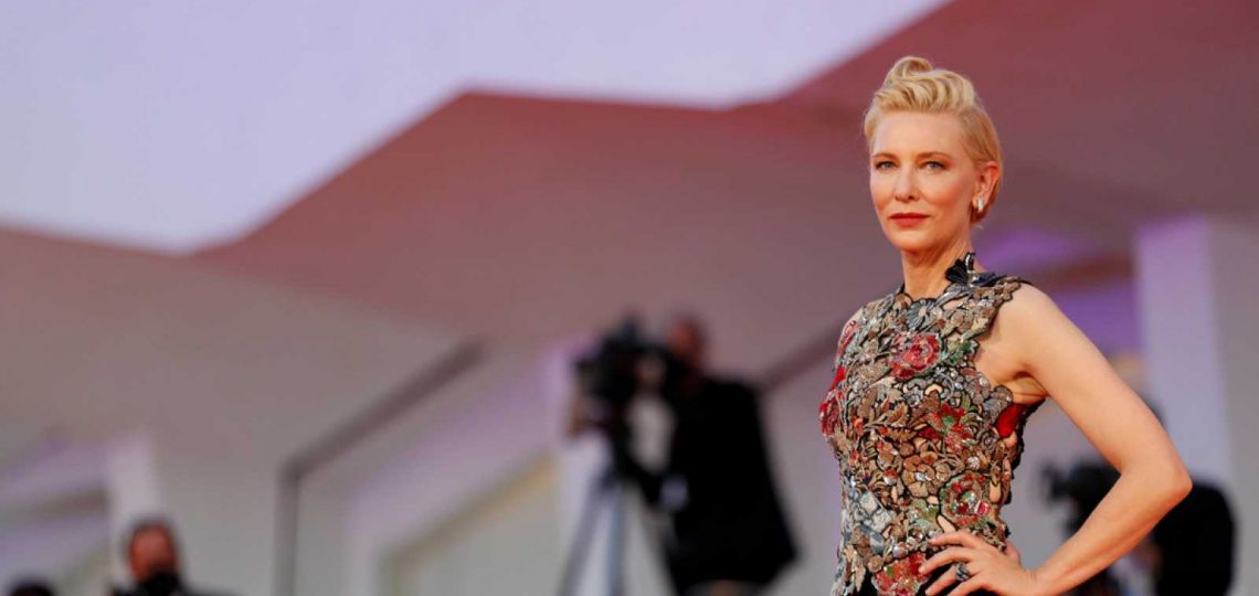 Los impactantes looks de Cate Blanchett en Venecia (que además fomentan el upcycling)
