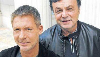 Adrián Suar y Marcos Carnevale