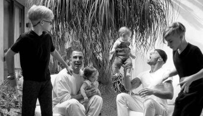 La nueva foto de Renn, el bebé de Ricky Martin