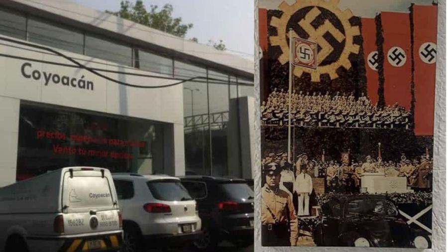 Volkswagen cierra concesionaria por exhibir imágenes nazis
