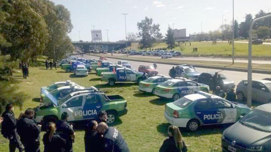 Policía bonaerense 20200908
