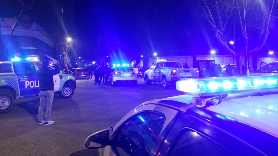 protesta policia bonaerense la plata