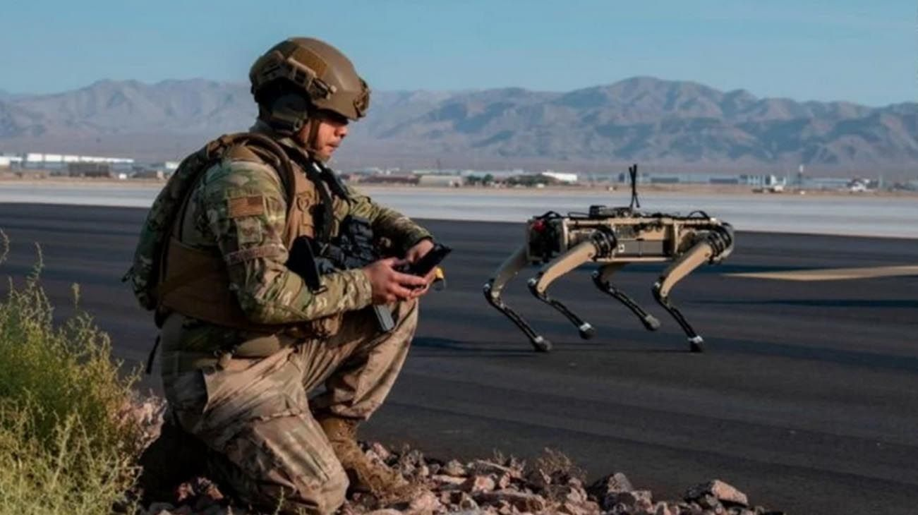 Por el momento, los perro robots están siendo usados por los militares norteamericanos para tareas secundarias.