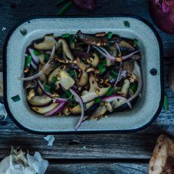 También pueden usarse champiñones (y verduras a gusto para el relleno).