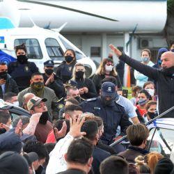Protestas de la policía | Foto:Juan Obregon
