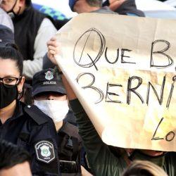 Protestas de la policía bonaerense.