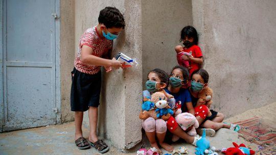 Fotogaleria Palestina Niños Jugando