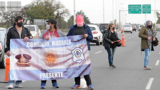 Protestas de la policía