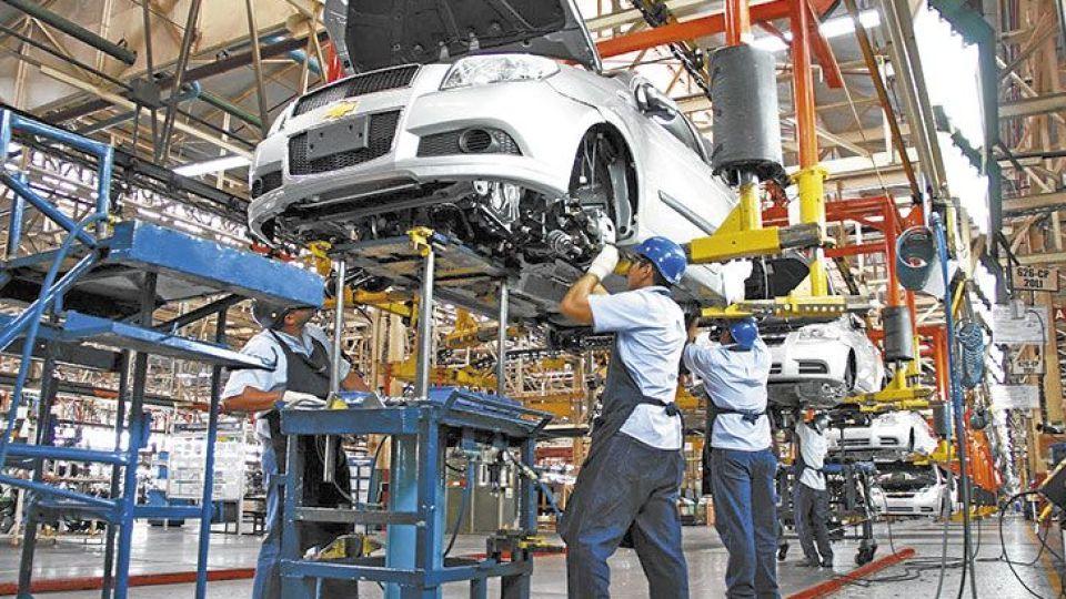 Nueva caída de la actividad industrial.