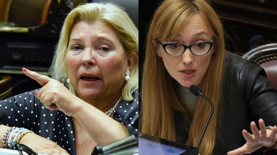 Elisa Carrió y Anabel Fernández Sagasti 20200909