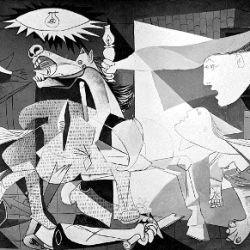 """""""Guernica"""" de Pablo Picasso."""