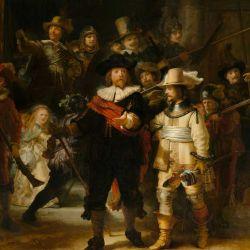 """La ronda de noche"""" de Rembrandt"""