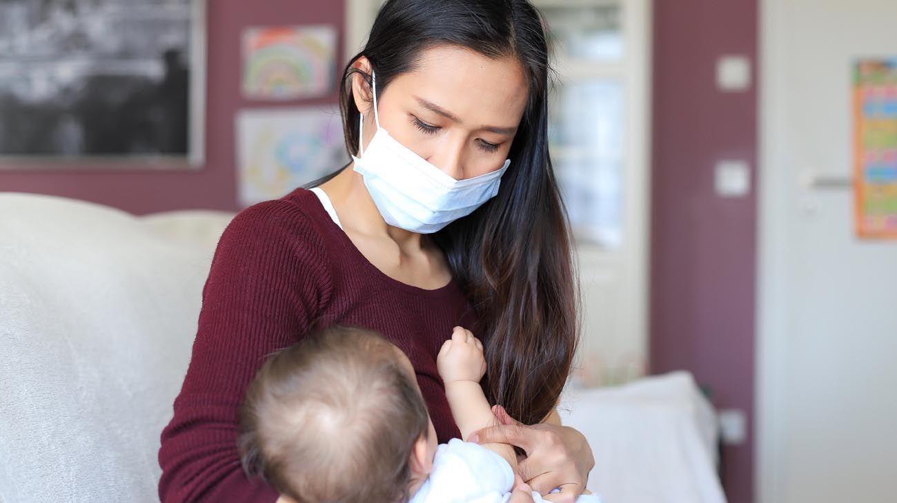 Ser madre durante la pandemia.