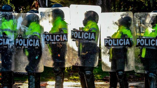 Fotogaleria Colombia Policias