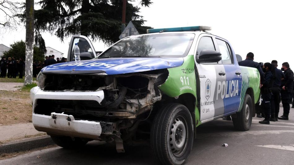 Reclamo Policía Bonaerense 20200910