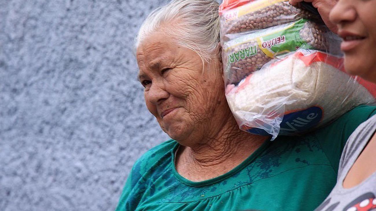 Las bolsas de arroz como las compra el pueblo