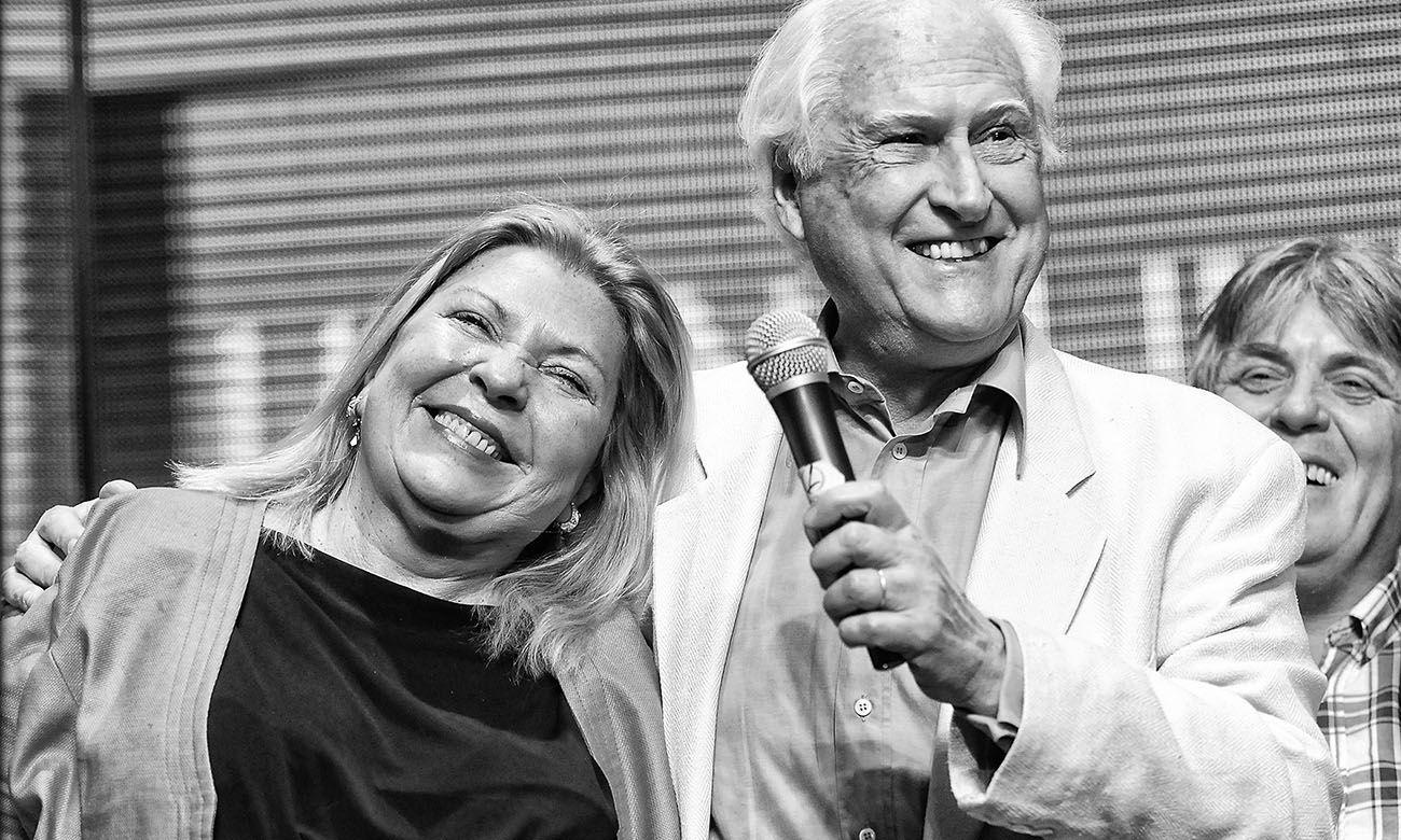 UNEN: un proyecto electoral fallido. Elisa Carrió y Pino Solanas.