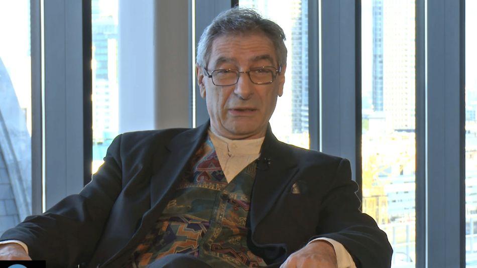 Archivo 2016. Juan Falú al conversar con Perfil durante la entrega de los Premios.