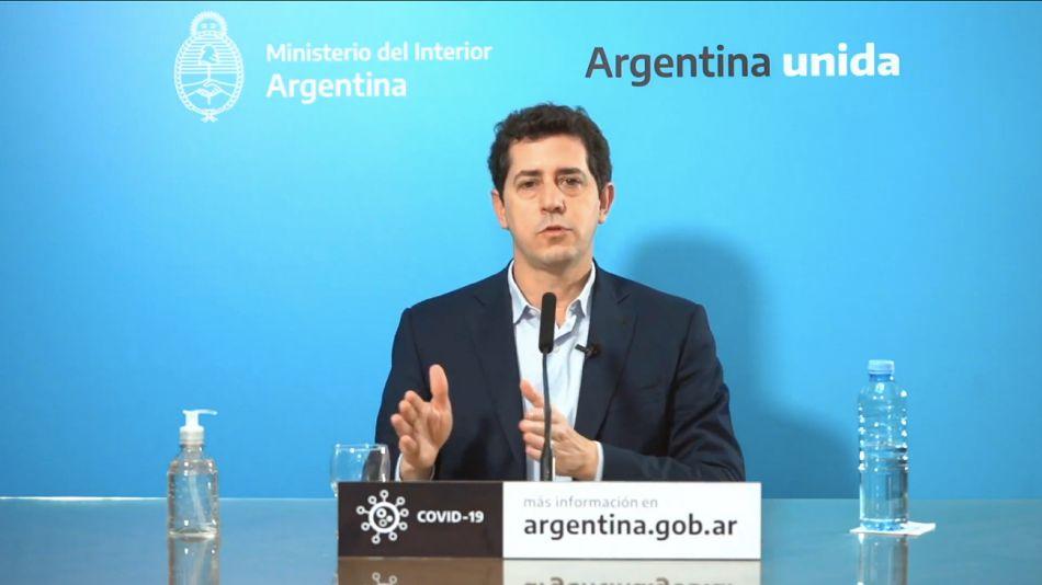 Eduardo De Pedro, ministro del Interior.