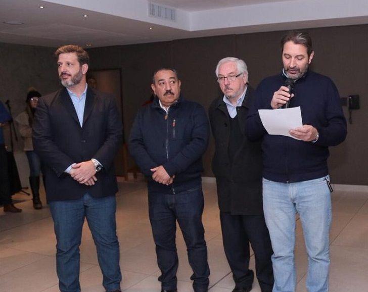 ALIADOS. Carro y Chacón, sintonía fina y objetivo de banca en Diputados en 2021.