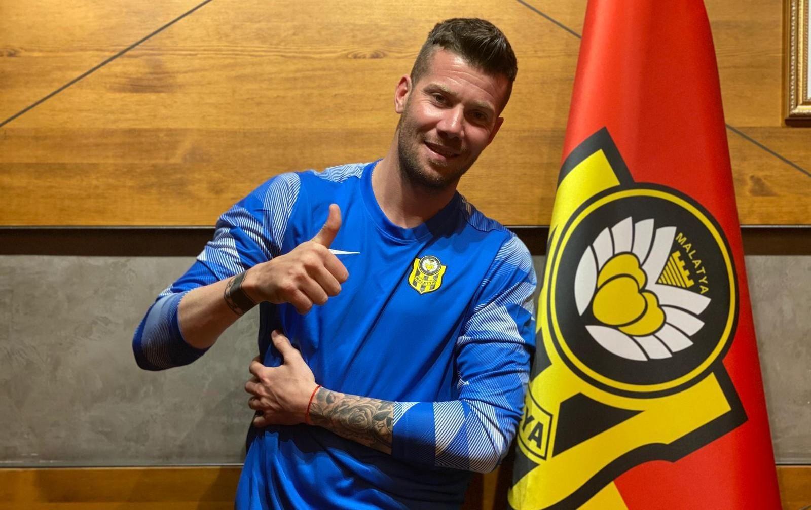La pasión turca. Guido Herrrera se fue de Talleres para defender el arco del Malatyaspor.