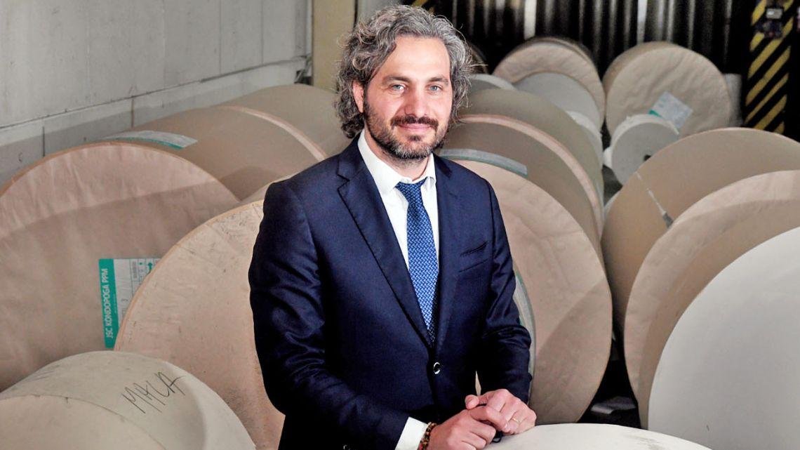 Santiago Cafiero, Cabinet Chief.