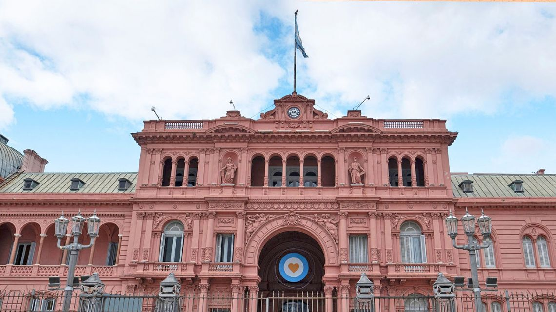The Pink House, House of Government.
