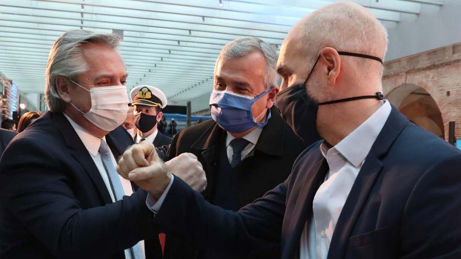 Romance de pandemia. El Presidente y Larreta mantuvieron contacto permanente durante estos meses. Ahora el diálogo está roto.