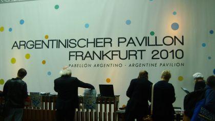 stand argentino en la Feria de Frankfurt 20200914