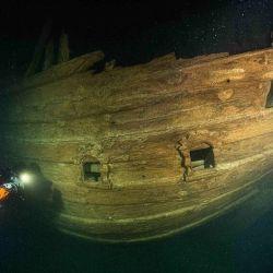 El descubrimiento fue hecho por un grupo de buzos que investigaban el Golfo de Finlandia.