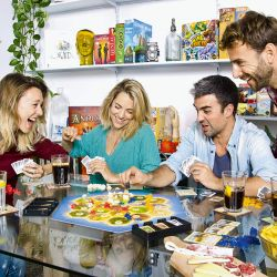 Juegos de mesa   Foto:Cedoc