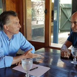 Mauricio Macri y Horacio Rodríguez Larreta.