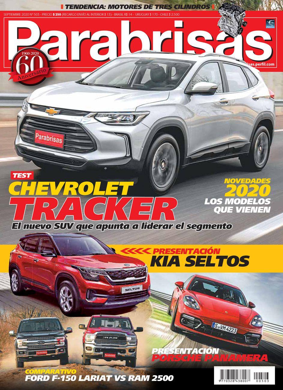 Tapa Revista Parabrisas n° 503 edición Septiembre 2020