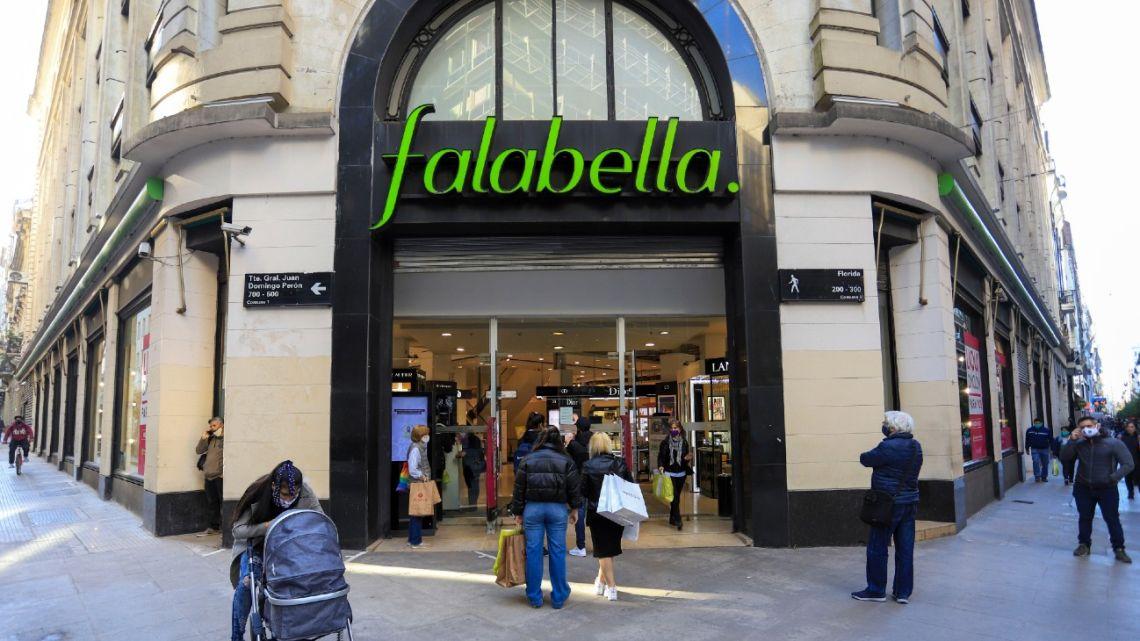 A Falabella department store.