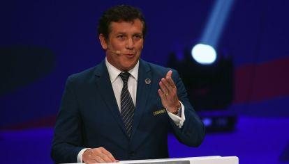 Alejandro Domínguez, presidente de la Conmebol. //NA