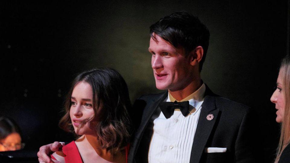 Emilia Clarke y Matt Smith el nuevo romance de Hollywood