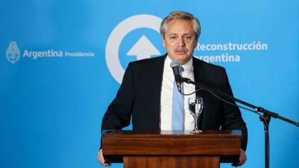 Alberto Fernandez con Gobernador de San Juan Sergio Uñac-20200915