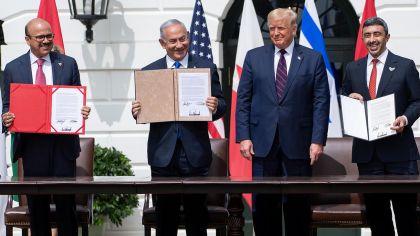 Israel, Emiratos Árabes Unidos y Bahrein 20200915