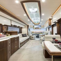 El interior gana en espacio gracias a tres secciones ampliables.