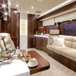 El interior se puede configurar a gusto del cliente.