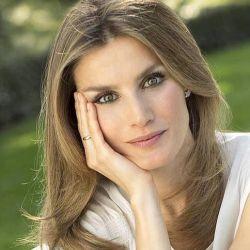 Letizia Ortiz, la reina consorte de España.