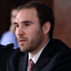 Ministro de Economía Martín Guzmán.