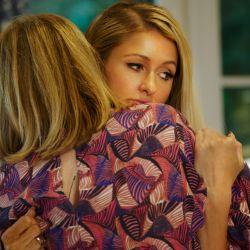 El abrazo con su madre, uno de los climax emocionales del film.