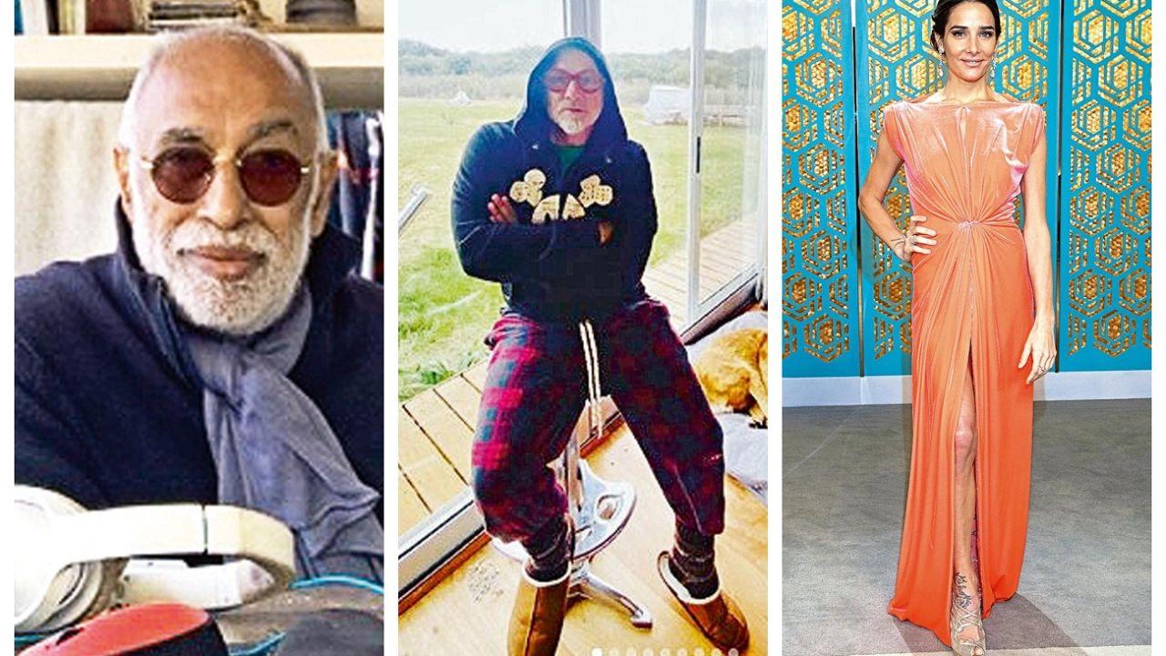 El Negro Oro hace radio desde su casa, Ronnie Arias ya vive en una Chacra y Juana Viale piensa en hacer los papeles. | Foto:CEDOC